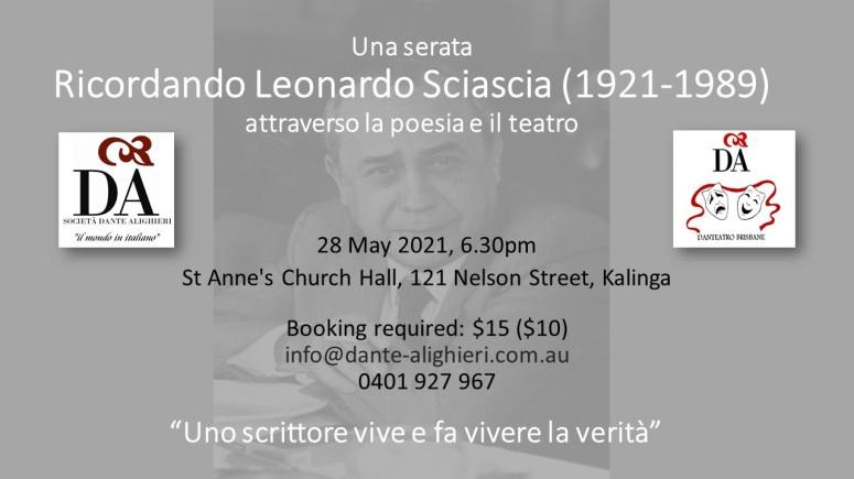 Leonardo Sciascia Danteatro